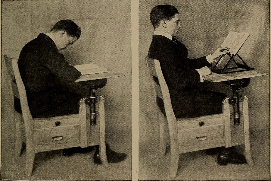 Posture isn't a new thing